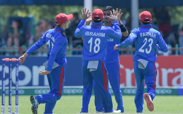 Afghanistan's Ghafari stars with 6 wickets in the opening match of U-19 World Cup
