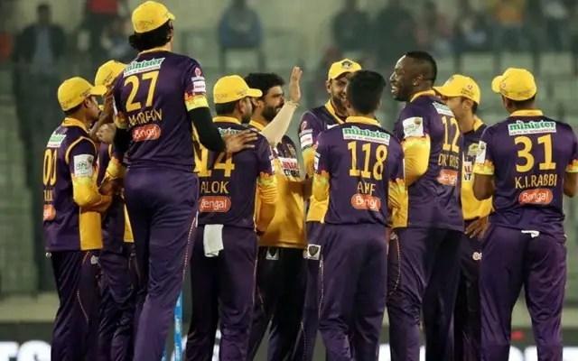 Rajshahi Royals win the Bangladesh Premier League (BPL) Title