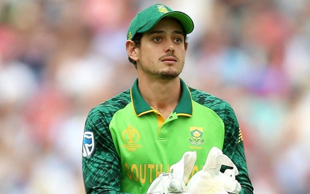 Quinton de Kock named South Africa's ODI captain