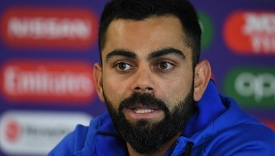 """Virat Kohli against 'four-day Test' proposal"" 7"