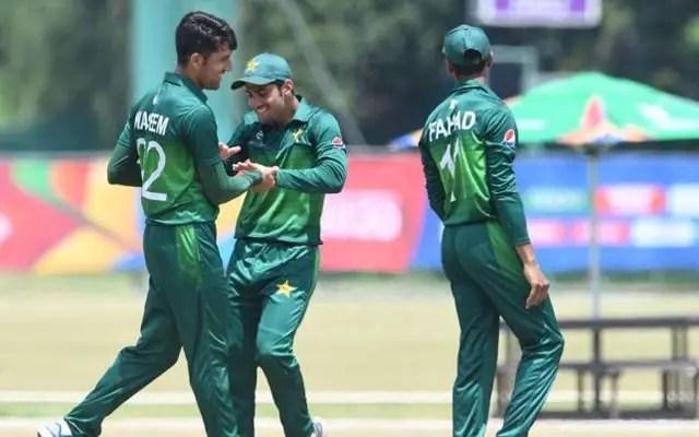 Pakistan qualifies for U-19 World Cup Quarter Finals