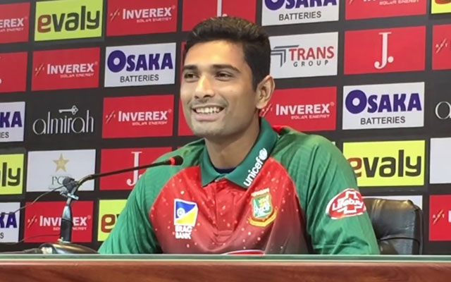 Mahmudullah speaks about their defeat in the first T20I against Pakistan