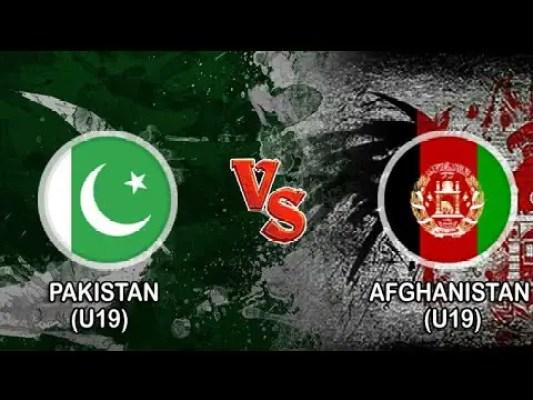 PAK U19 vs AFG U19 Live Score Super League Quarter-Final 4 of U19 WC between Pakistan U19 vs Afghanistan U19 on 31 January 2020 Live Score & Live Streaming