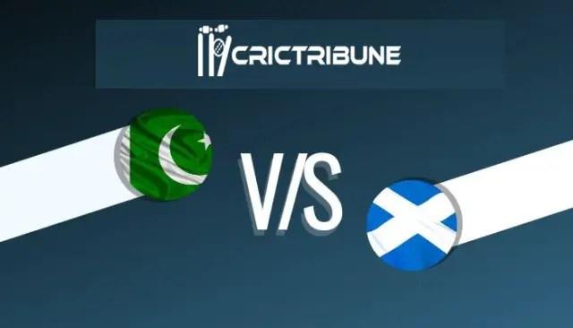 PAK U19 vs SCO U19 Live Score, Pakistan U19 vs Scotland U19, 6th Match Live 2