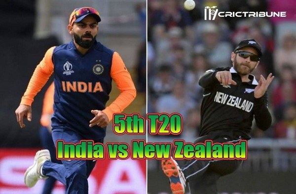 IND vs NZ Live Score 5th Match between India vs New Zealand Live on 02 February 2020 Live Score & Live Streaming