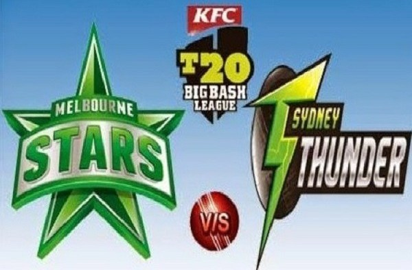 STA vs THU Live Score Challenger of BBL 2020 between Melbourne Stars vs Sydney Thunder on 06 February 2020 Live Score & Live Streaming