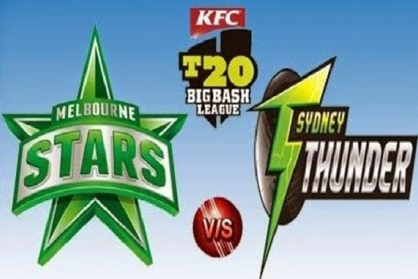 STA vs THU Live Score Challenger of BBL 2020 between Melbourne Stars vs Sydney Thunder on 06 February 2020 Live Score & Live Streaming