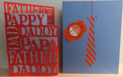 An awesome card that you can make with your Cricut for Father's Day!