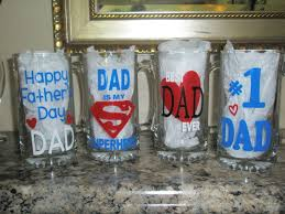 Father's Day Beer mugs made with Cricut!