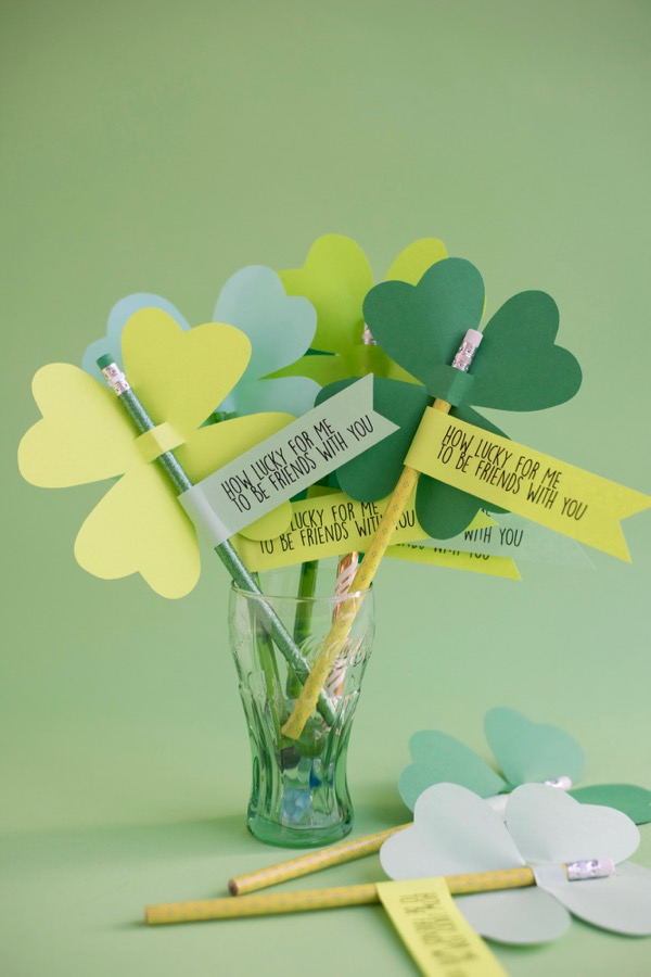 Cricut idea for st. patricks day. the kids would love these!