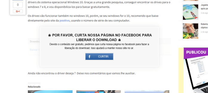 como bloquar um download