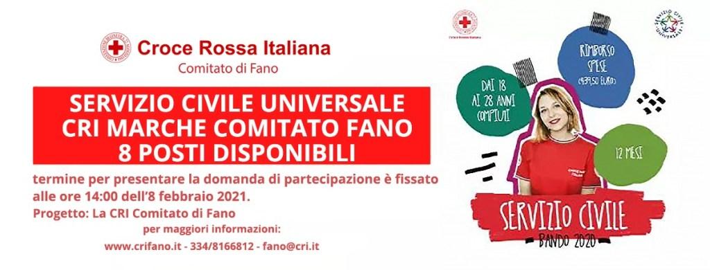 Servizio Civile Croce Rossa Fano