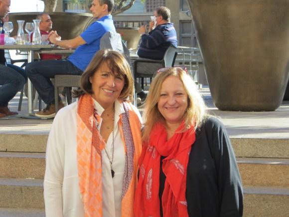 Madame la Consule Générale d'Israel à Marseille - Anita Mazor et Madame Michèle Teboul Pdte Crif Marseille Provence