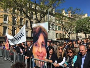 Rassemblement silencieux en mémoire de Mme Halimi