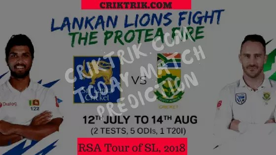 RSA-tour-of-SL-2018-today-match-prediction
