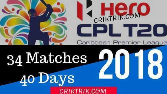CPL 2018 Today Match Astrology Prediction - CrikTrik