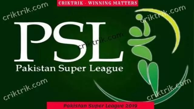 Pakistan Super League 2019 - Today match prediction