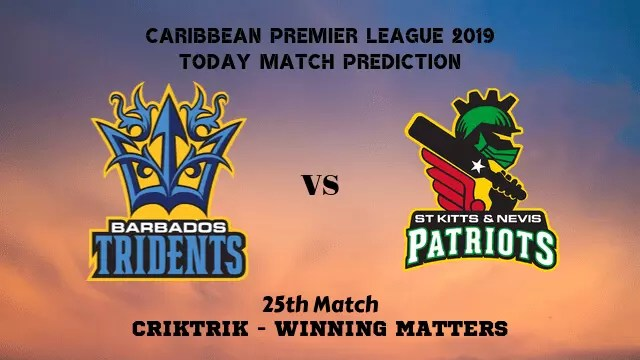 bt vs snp 25th match prediction - BT vs SNP, 25th T20 - Today Match Prediction, CPL 2019