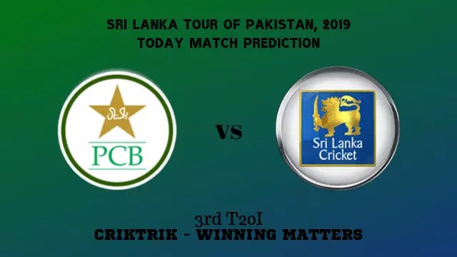 pak vs sl 3rd t20 match prediction - PAK vs SL, 3rd T20I Today Match Prediction - 09/10/2019