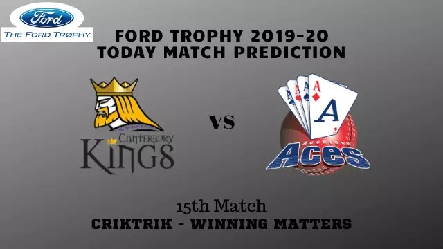 can vs akl 15th match prediction - Canterbury vs Auckland Prediction - 15th Match, Ford Trophy 2019-20