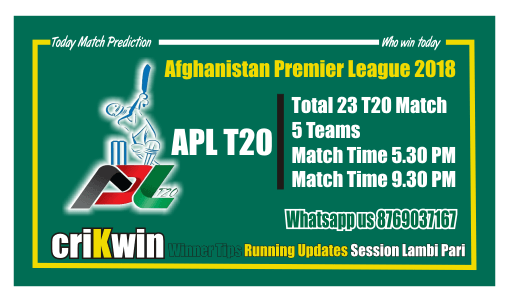 Today Match Prediction KAN vs BAL APL T20 5th Match