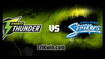 Who Win Today BBL 2019 14th Match Adelaide vs Thunder
