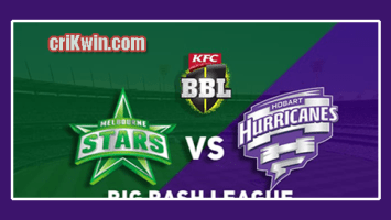 Who Win Today BBL 2018-19 7th Match Hobart vs Melbourne Stars