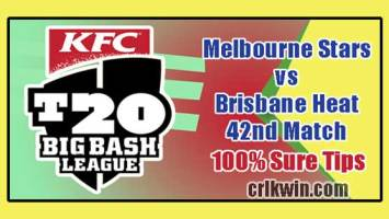 BRH vs MLS Today Match Reports BBL 42nd 100% Sure Match Prediction
