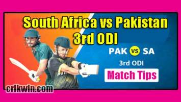 RSA vs PAK Today Match Reports 3rd ODI 100% Sure Match Prediction