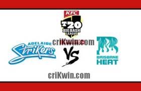 ADS vs BRH Match Reports BBL T20 50th 100% Sure Match Prediction