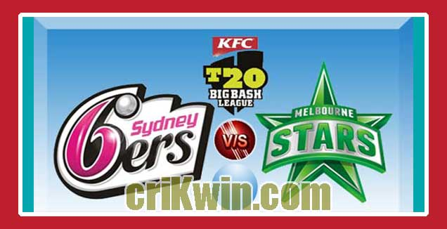 SYS vs MLS Match Reports BBL T20 56th 100% Sure Match Prediction