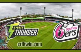 SYS vs SYT Match Reports BBL T20 49th 100% Sure Match Prediction