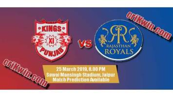 IPL 2019 KXIP vs RR 4th Match Prediction Tips Who Win Today