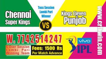 IPL 2019 KXIP vs CSK 18th Match Prediction Tips Who Win Today