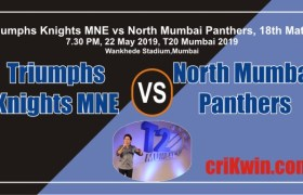 TK vs NMP MPL T20 Mumbai League Cricket Match Prediction 100% Sure