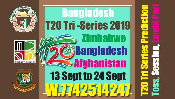 Tri Series Today Match Prediction Raja Babu Zim vs Ban 1st Match Who will win today zim vs Ban
