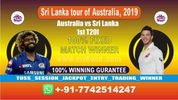 1st T20 100% Sure Today Match Prediction winning chance of SL vs AUS Cricket True Astrology Winner Toss Tips Who will win today Jackpot