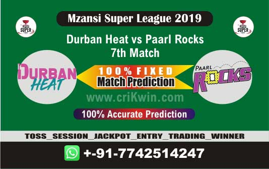 MSL 2019 Today Match Prediction PR vs DUR 7th Match Who Will Win