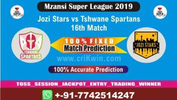 MSL 2019 Today Match Prediction TST vs JOZ 16th Match Who Will Win