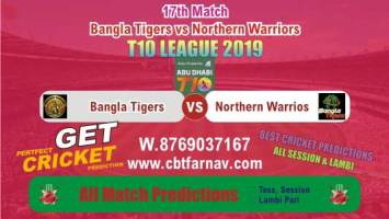 T10 League 2019 Today Match Prediction NOR vs BAT 17th Match Who Will Win