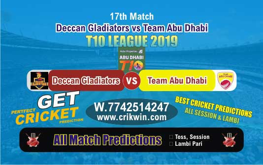 T10 League 2019 Today Match Prediction TAB vs DEG 18th Who Will Win