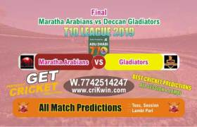 T10 League Match Prediction DEG vs MAR Final Match Who Will Win