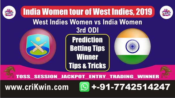 Womens Today Match Prediction IN-W vs WI-W 3rd ODI Match Who Will Win