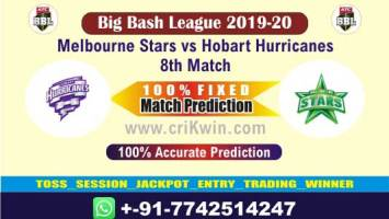 BBL T20 2019-20 Today Match Prediction HOB vs MLS 8th 100 Sure Win