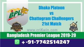 BPL 2020 Today Match Prediction CCH vs DHP 21st 100% Sure Win Toss
