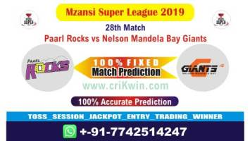 MSL 2019 Today Match Prediction NMG vs PR 28th Who Will Win