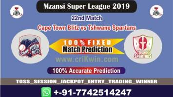 MSL 2019 Today Match Prediction TST vs CTB 22nd Who Will Win