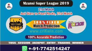 PR vs JOZ 21st MSL 2019 Today Match Prediction Who Will Win