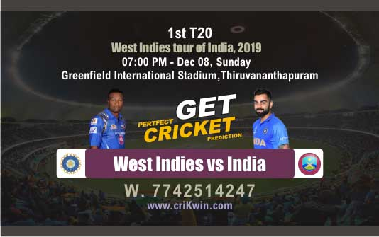 Today Match Prediction WI vs Ind 2nd T20 Who Will Win today 100% Sure