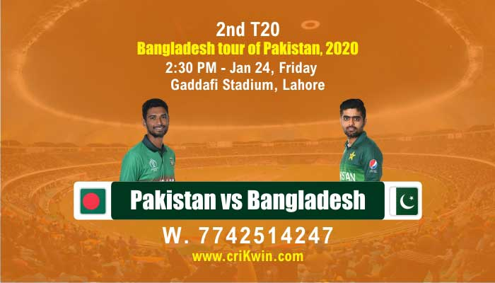 BAN vs PAK cricket win tips 2nd T20